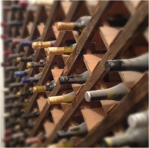 There's wine racks, and there's pantries, and then there's wine racks IN pantries.