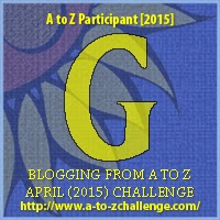 A to Z blogging challenge: G