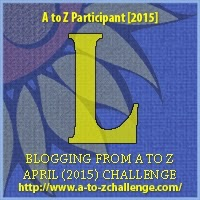 A to Z blogging challenge: L