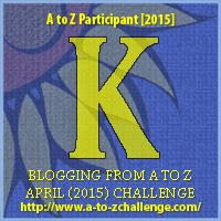 A to Z blogging challenge: K