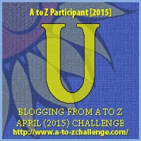 A to Z blogging challenge: U