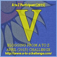 A to Z blogging challeng: V