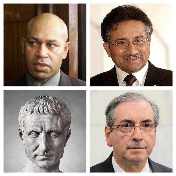 Speight, Musharraf, Caesar, Cunha